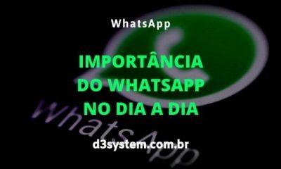 importância do whatsapp no dia a dia